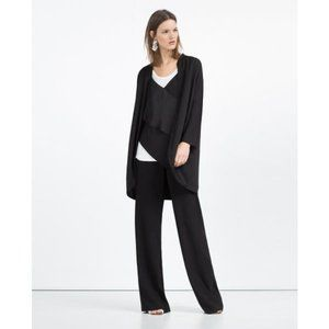 Zara | Long open front jacket